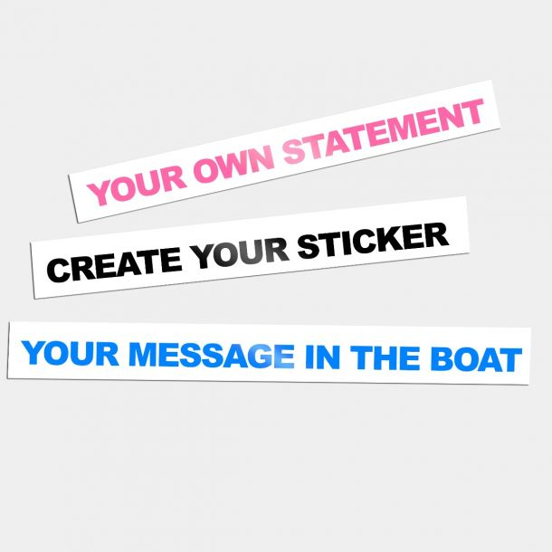 Sticker: Customized Message