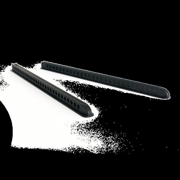 Footrest support rails: Surfski