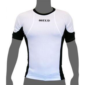 Nelo Short Sleeve-White/Black-XL