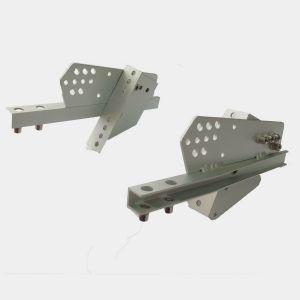 Footrest side rails