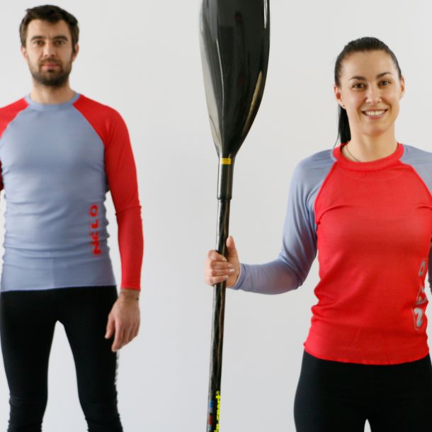 Combo Nelo Long Sleeve (Limited GREY-RED Edition)