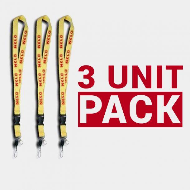 NELO Keyring - Pack 3 Units