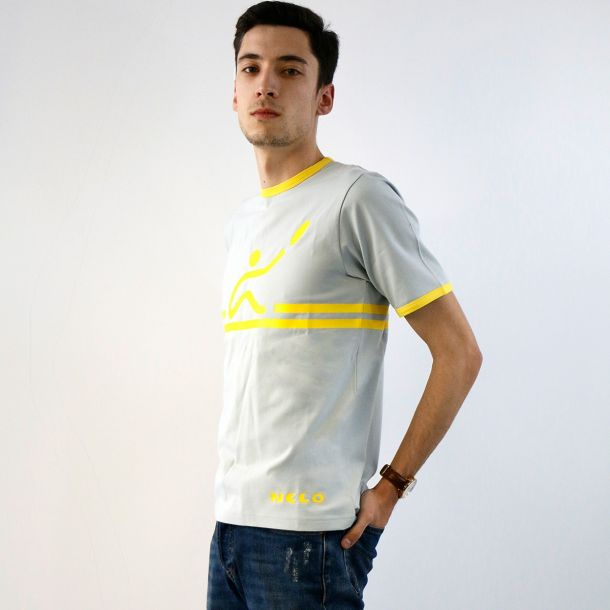 Nelo Retro Casual T-shirt - Men S