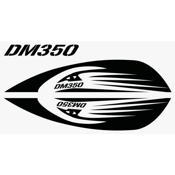 Slalom Stickers: DM350