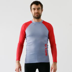 Nelo Long Sleeve (Limited GREY-RED Edition)